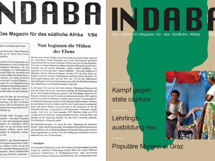 Forum Südliches Afrika, 20. Dezember 2018: Indaba Nummer 100