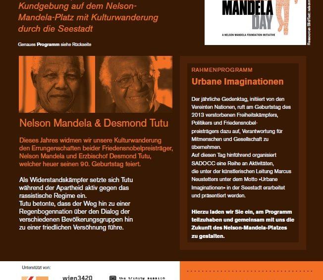Einladung: Nelson-Mandela-Tag 2021