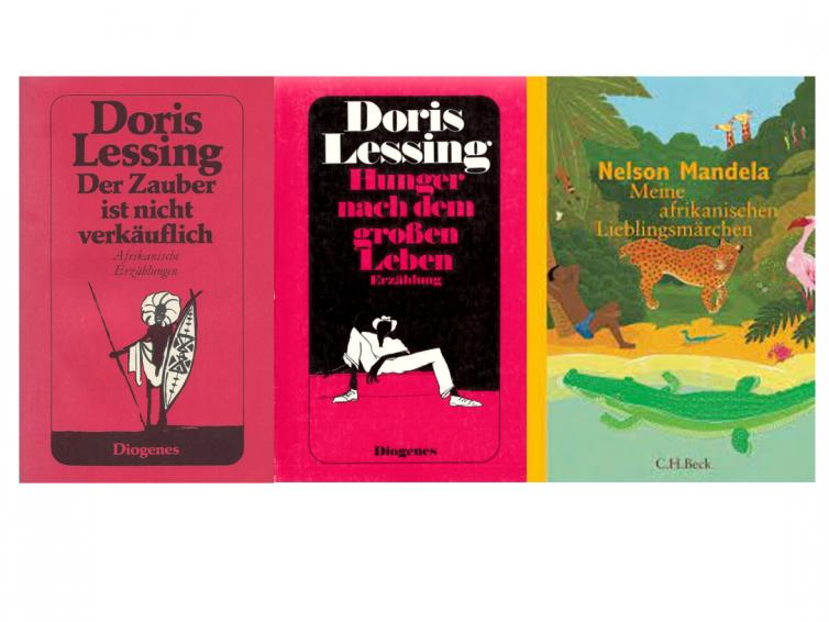 """Lesung """"Kurzgeschichten von Doris Lessing und Märchen aus dem südlichen Afrika"""", 5. Juli 2021"""