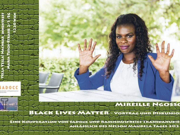 Mireille Ngosso: Black Lives Matter – Vortrag und Diskussion